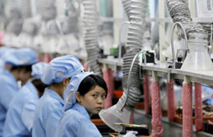نشاط المصانع فى الصين ينكمش للمرة الأولى فى سبعة أشهر