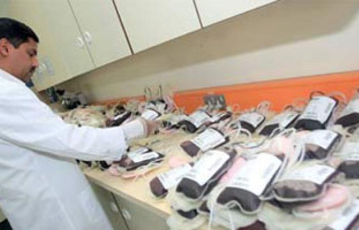 تشغيل جهاز جديد لفصل مشتقات الدم ببنك دم السويس