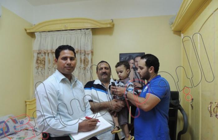 """بالفيديو والصور """"اليوم السابع"""" يرصد عودة طفل مختطف بعد ساعتين بالبحيرة"""
