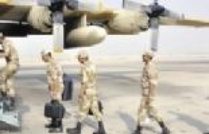 """عودة القوات المصرية المشاركة في المناورة """"تبوك 3"""""""