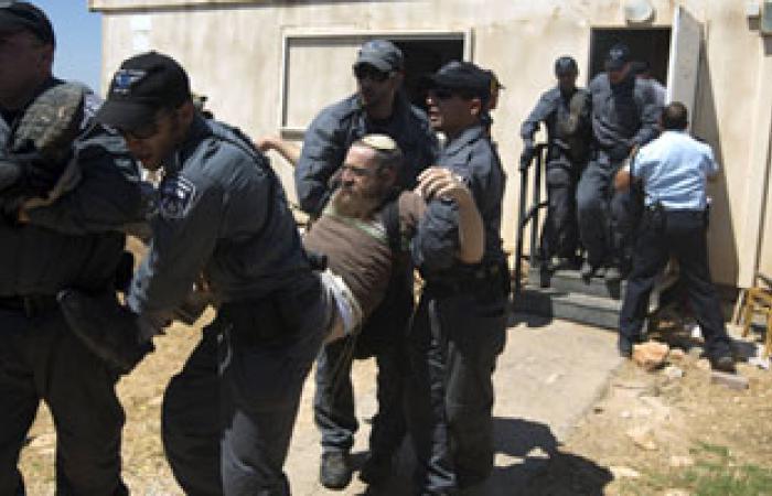 إصابة مستوطن فى مواجهات بين فلسطينيين والجيش الإسرائيلى بالضفة
