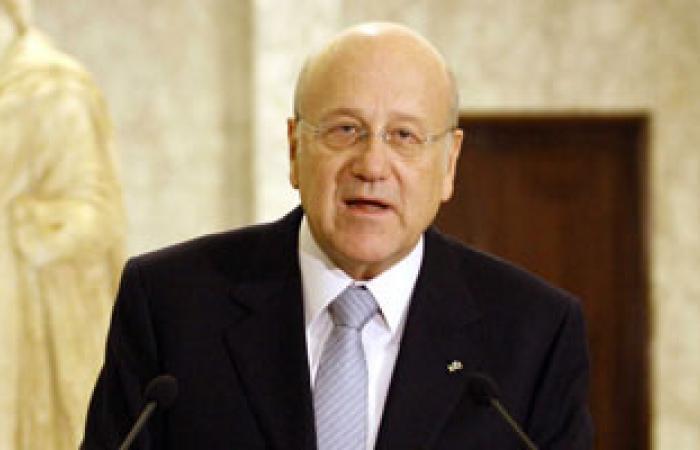 """ميقاتى يأسف لوصف اجتماع عقده مجلس الوزراء المستقيل بـ """"المسرحية"""""""