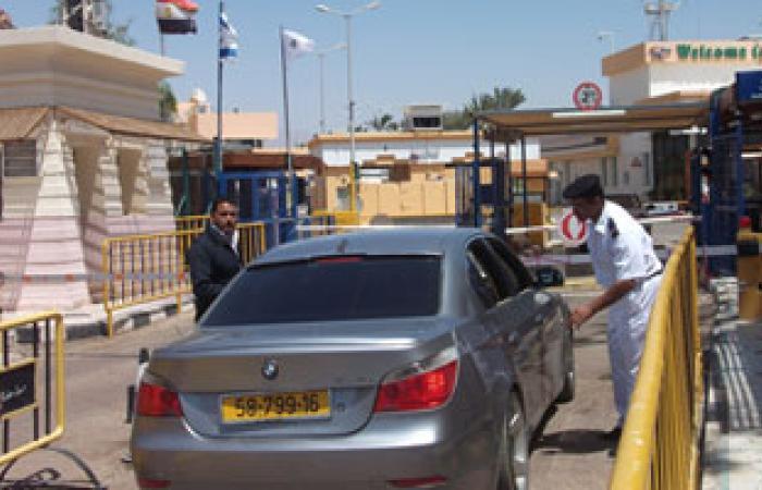 منفذ طابا البرى يستقبل 986 سائحًا إسرائيليًا اليوم
