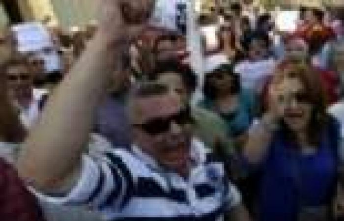 مسيرة تتحرك بعد قليل من أمام دار الأوبرا إلى مكتب وزير الثقافة