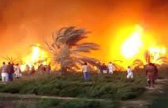 الحكومة الليبية تطالب بمساعدات دولية لإخماد حرائق الجبل الأخضر