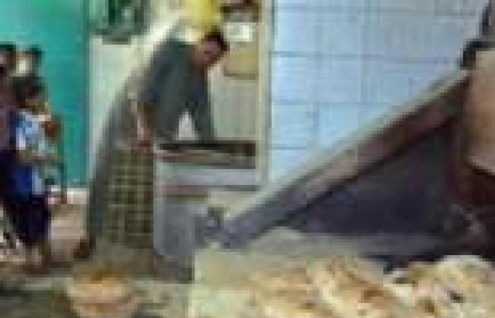 ضبط أمين مستودع وصاحب مخبز تصرفا في 7 أطنان دقيق بلدي بالبحيرة