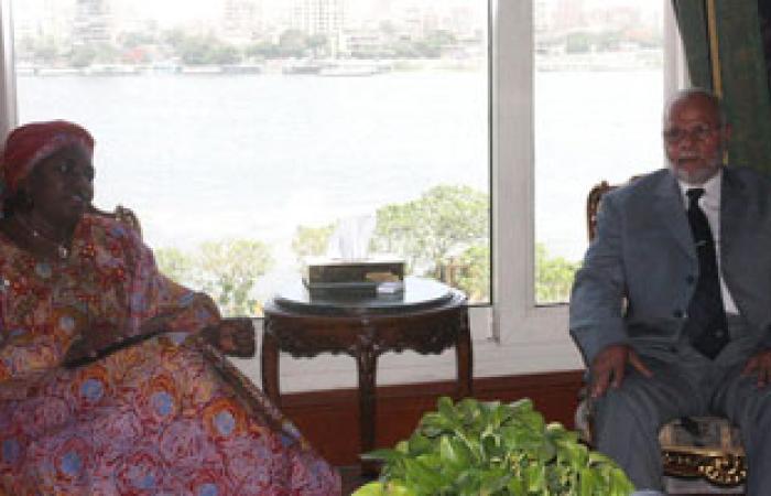 وزير الرى يلتقى وزيرة المياه النيجيرية لبحث سبل تعزيز العلاقات