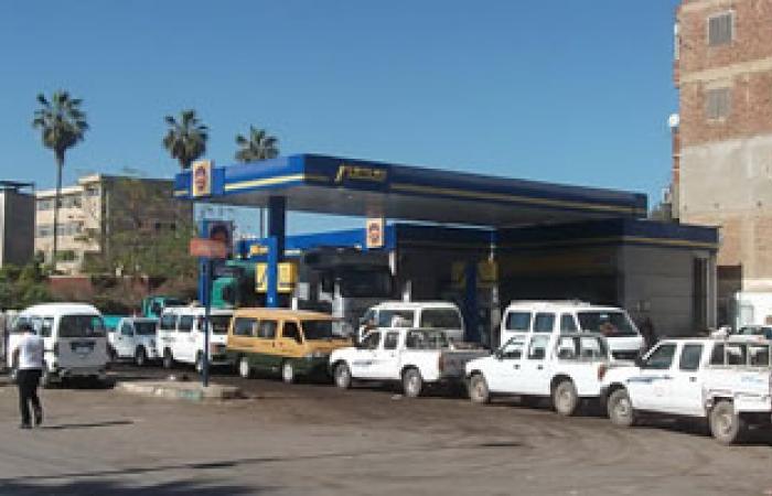 شلل مرورى تام فى الغربية بسبب أزمة الوقود
