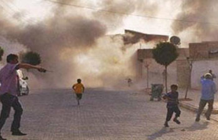 قصف واشتباكات فى مناطق متفرقة بدمشق