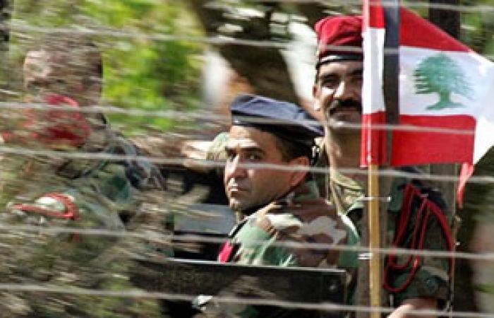 الجيش اللبنانى يواصل انتشاره لفرض الأمن