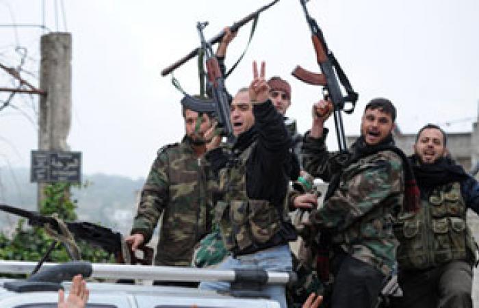 الجيش الحر يسيطر على أكبر حواجز النظام السورى فى درعا