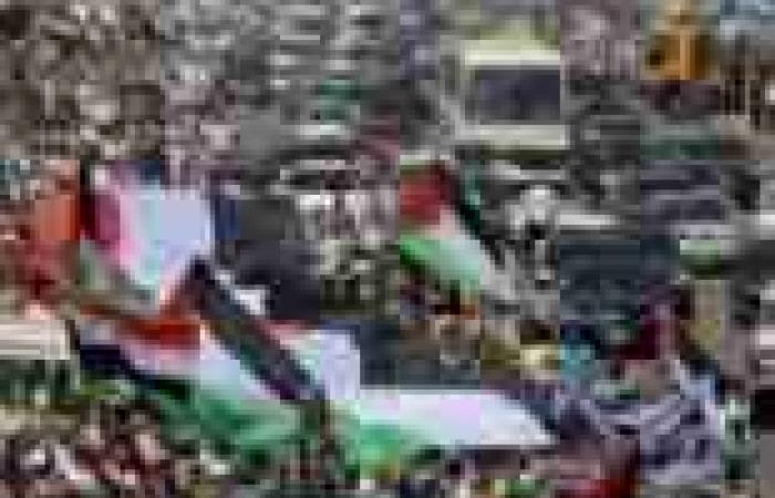 مئات الإخوان يهاجمون «بشار» فى مسيرة القدس.. ويهتفون: «يسقط يسقط حزب الله»