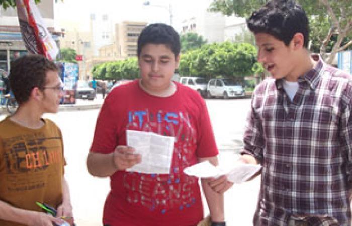 انتهاء أول أيام امتحانات الثانوية العامة بدون مشاكل فى الإسماعيلية