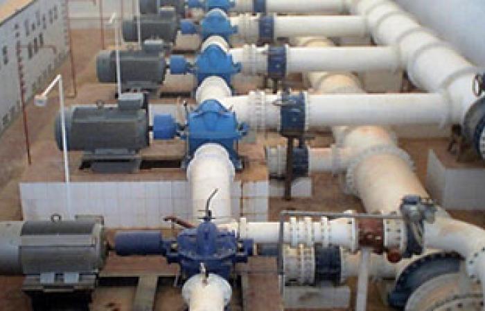 شركة مياه مطروح: إصلاح كسر خط الألف وإعادة ضخ المياه
