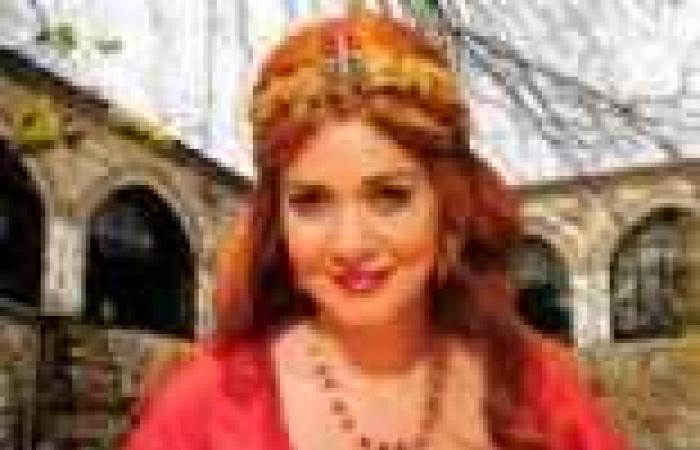 """حسناء سيف الدين تتحول إلى """"السلطانة هيام"""""""