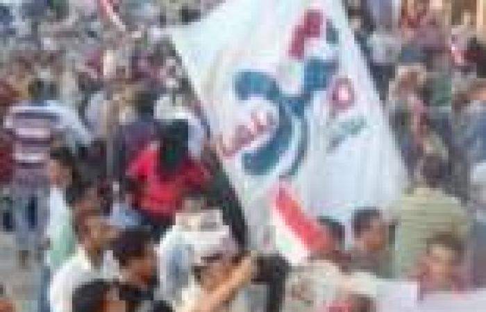متظاهرو بلبيس: يا شاطر حلق حوش مشروع النهضة طلع فنكوش