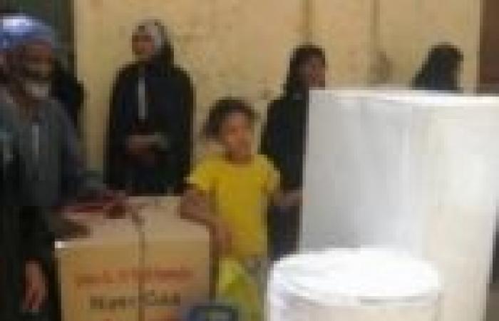 """""""مصر الخير"""" توزع 50 جهاز عروسة في أسوان"""