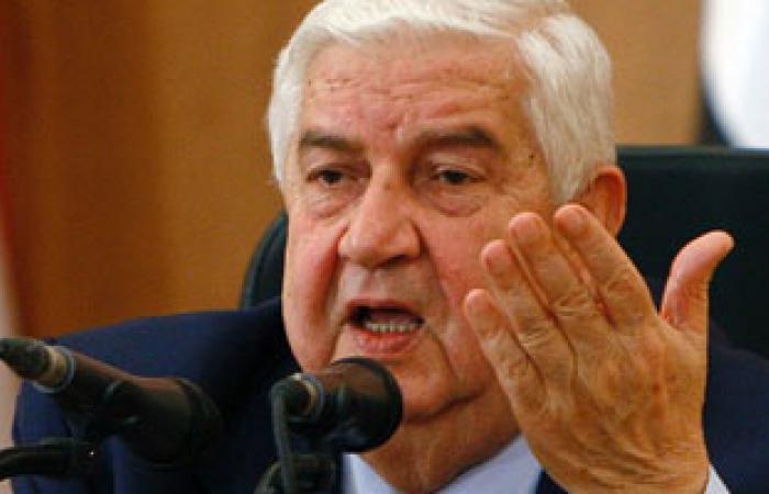 وزير الخارجية السورى: جادون فى قرار المشاركة فى مؤتمر جنيف