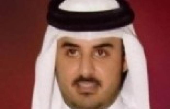أمير قطر الجديد يلتقي خالد مشعل