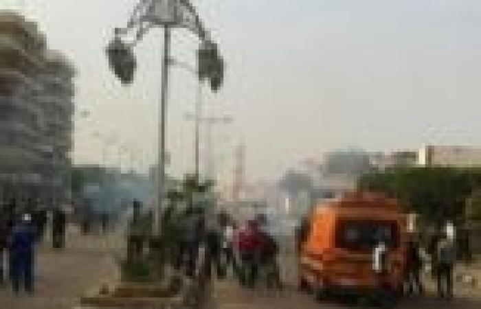 """""""الإسعاف"""": 6 مصابين بالخرطوش في اشتباكات سيدي جابر بالإسكندرية"""