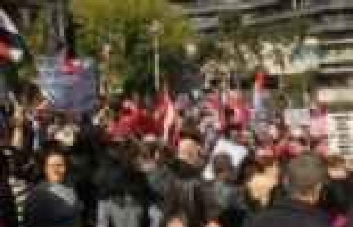 مسيرة بقرية البوها في الدقهلية للمطالبة بإسقاط النظام