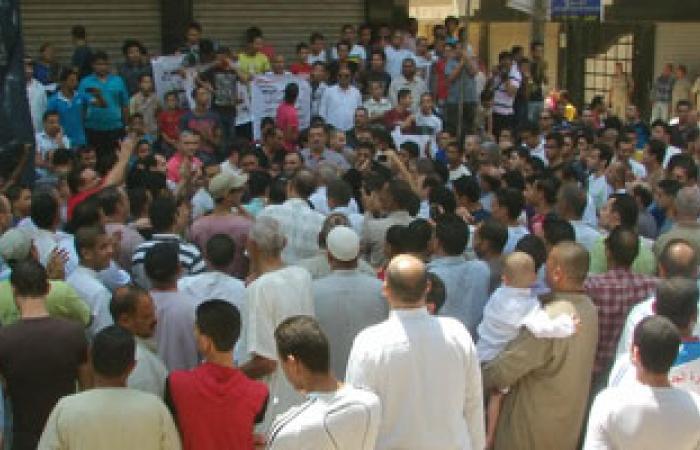 متظاهرو دمياط يعلنون العصيان المدنى