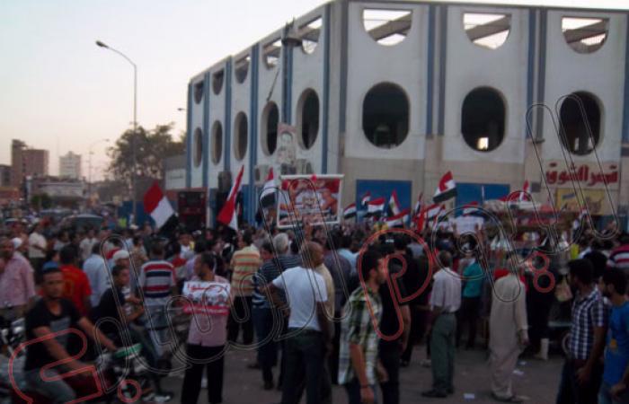 بالصور.. استمرار مظاهرات السويس للتأكيد على إسقاط مرسى والإخوان