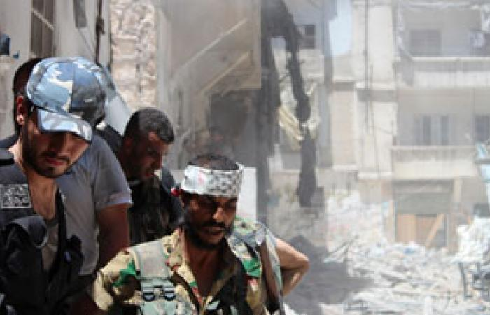 مقتل 15 فى قصف مدفعى لقوات الأسد على حى القابون بدمشق
