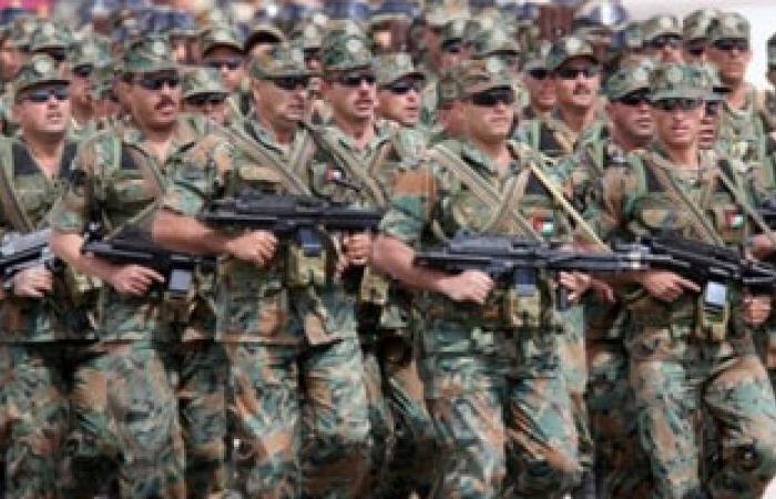 الجيش الأردنى يلقى القبض على 7 مسلحين قادمين من سوريا