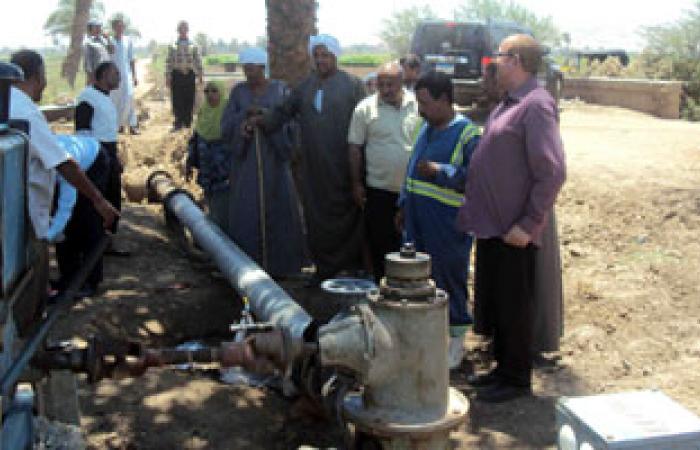 تشغيل أول وحدة لتنقية المياه بالأغشية الليفية بالإسكندرية