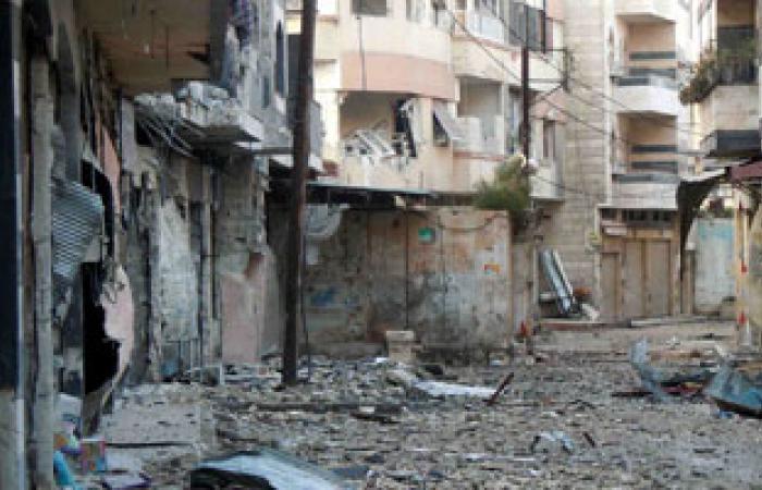 الجيش السورى الحر يتصدى لاقتحام قوات الأسد لحمص وسط قصف لدرعا