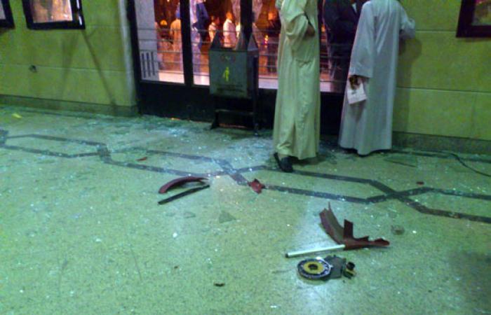 """""""اليوم السابع"""" تنشر عددا من صور اعتداءات الإخوان على محطة قطار قنا"""