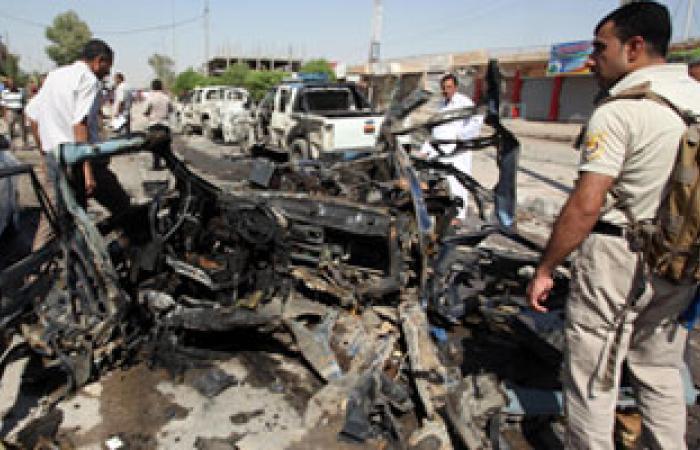 ثلاثة قتلى على الأقل بانفجار سيارة مفخخة فى وسط بغداد