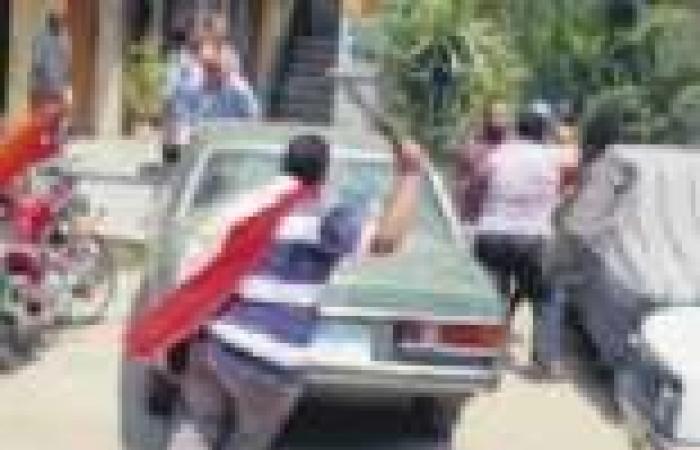 24 مصاباً فى «حرب شوارع» بين أهالى المنوفية ودمياط وأنصار «المعزول»