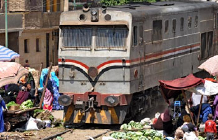 قطار 158 يواصل رحلته إلى الصعيد بعد إطفاء حريق بدورة المياه