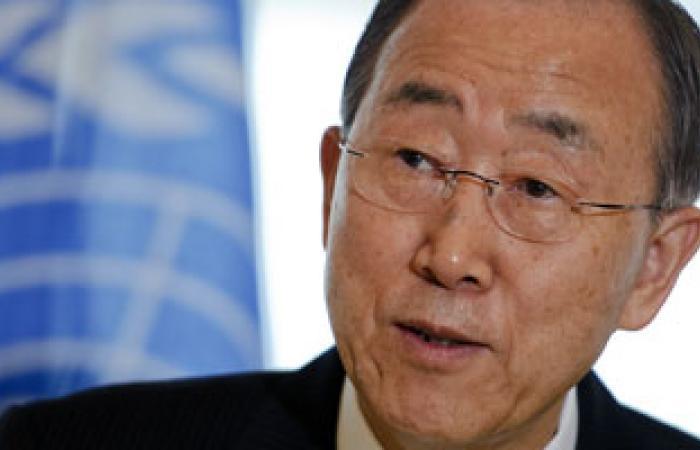 بان كى مون: أكثر من 100 ألف قتيل فى سوريا حتى الآن