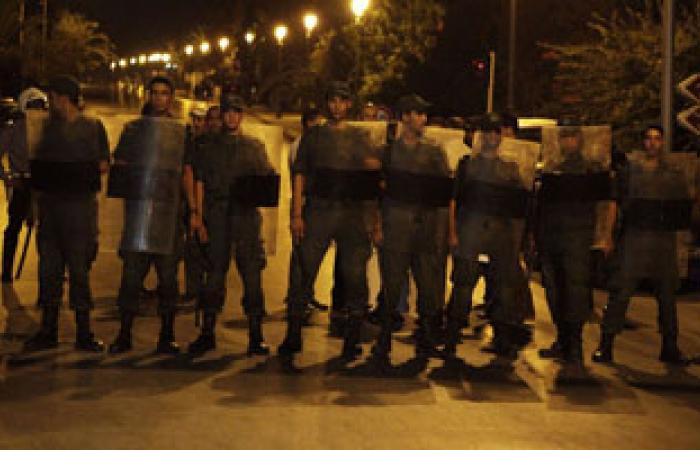 الشرطة تطلق الغاز المسيل للدموع لتفريق محتجين وزارة الداخلية التونسية