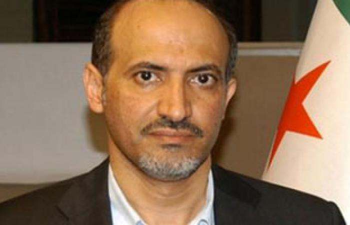زعماء المعارضة السورية يحثون كيرى على إرسال أسلحة أمريكية بسرعة