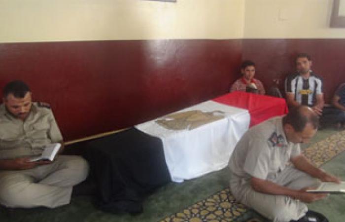 """تشييع جنازة شهيد الواجب """"عباس متولى"""" بدمياط"""
