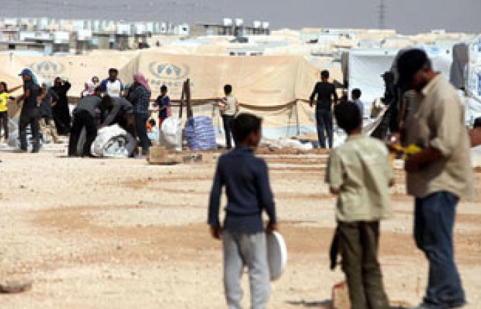 """اعتصام لنازحى مخيم البارد فى بيروت رفضا لإجراءات وكالة """"الاونروا"""""""