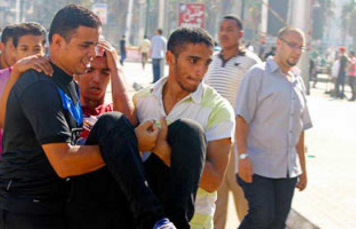 """توجه مجموعة من """"تمرد الإسكندرية"""" للمستشفى الميدانى بالقائد إبراهيم"""