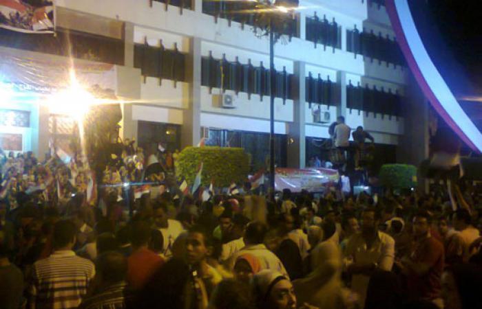 بالصور.. انتهاء تظاهرات جمعة لا للإرهاب بالإسماعيلية