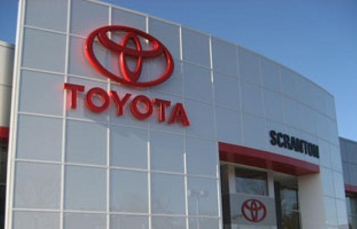 """""""تويوتا"""" تحتفظ بلقب أكبر شركة للسيارات فى العالم فى النصف الأول"""