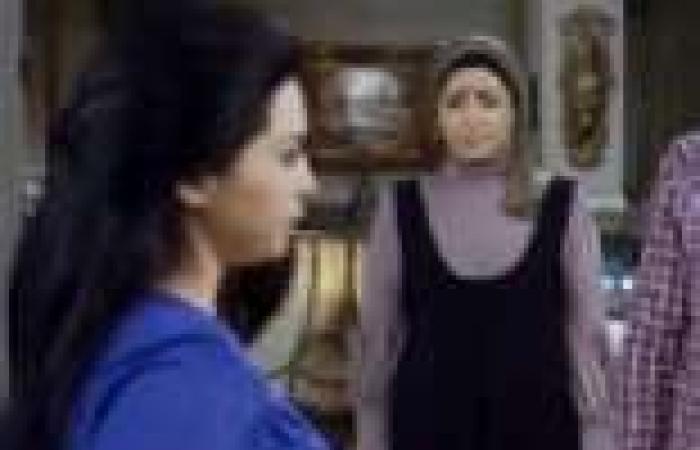 """الحلقة (14) من """"الشك"""": """"عوني القص"""" ينشر عقد زواج """"سامية"""" العرفي من """"قاصد خير"""" على العاملين بمدرستها"""
