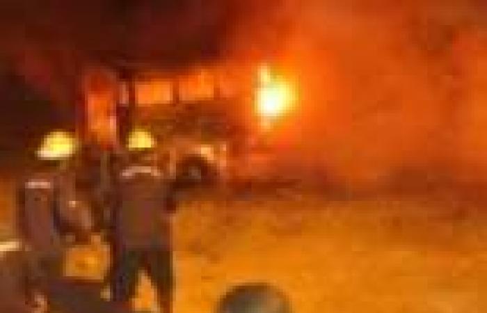 إخوان دمياط يشيعون جثمان عضو الجماعة ضحية أحداث رابعة العدوية