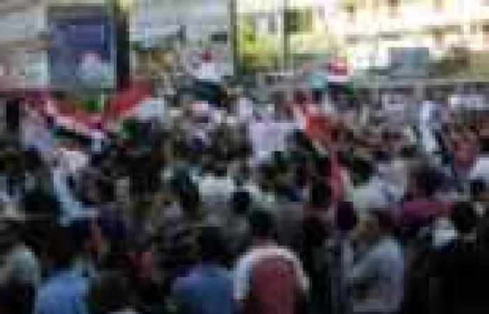"""""""تنسيقية 30 يونيو"""" تشكر شعب أسيوط لاستجابته لدعوة الجيش ضد الإرهاب"""
