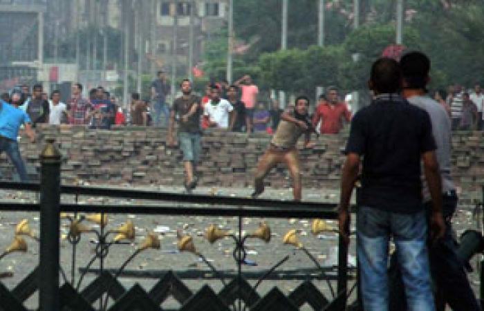 أنصار الإخوان بالمحلة يشيعون أحد ضحايا أحداث المنصة