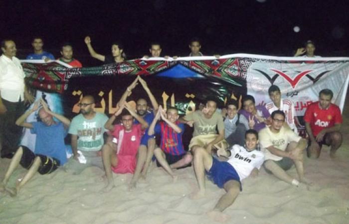 بالصور.. المصريين الأحرار بالإسكندرية يفتتح دورة رمضانية لألعاب الشاطئ