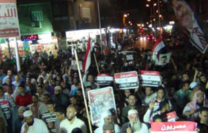 مسيرات للإخوان المسلمين بالمنوفية للمطالبة بعودة الرئيس المعزول