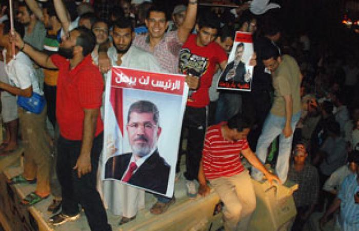 مسيرات لمؤيدى محمد مرسى بالسويس للمطالبة بعودة المعزول